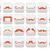 moustache · isolé · pilosité · faciale · blanche · visage · noir - photo stock © redkoala