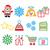 Рождества · календаря · ретро · цвета · вектора · долго - Сток-фото © redkoala