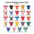 english football league two jerseys 2016   2017 vector icons set stock photo © redkoala