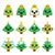 kawaii · Noël · icônes · cute · traditionnel · symboles - photo stock © redkoala