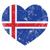 retro · szív · alakú · zászló · klasszikus · grunge - stock fotó © redkoala