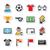futball · futball · mező · ikonok · izolált · számítógép - stock fotó © redkoala