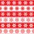 karácsony · piros · hópelyhek · minta · vektor · nő - stock fotó © redkoala