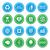 eco · geri · dönüşüm · etiketler · ayarlamak · yeşil · yalıtılmış - stok fotoğraf © redkoala