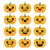 halloween kawaii cute pumpkin icons   vector stock photo © redkoala
