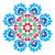 polish round folk art pattern   wzory lowickie wycinanka stock photo © redkoala
