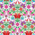 senza · soluzione · di · continuità · floreale · pattern · fiori · uccelli - foto d'archivio © redkoala