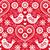 arte · retro · cuadrados · vector · patrón · aves - foto stock © redkoala