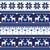 scandynavian knitted seamless pattern with deer stock photo © redkoala