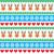 christmas pattern with reindeer pattern   scandynavian sweater style stock photo © redkoala
