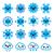 météorologiques · icônes · illustration - photo stock © redkoala