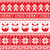 christmas jumper or sweater seamless pattern with gingerbread man and christmas pudding stock photo © redkoala