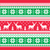 christmas and winter knitted pattern card   scandynavian sweater style stock photo © redkoala