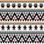 halloween seamless pattern   tribal aztec print style stock photo © redkoala