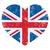 liefde · Verenigd · Koninkrijk · symbool · hart · vlag · icon - stockfoto © redkoala