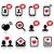 love valentines day icons set stock photo © redkoala
