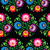 seamless traditional floral polish pattern   ethnic background stock photo © redkoala