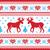 karácsony · tél · minta · kártya · stílus · piros - stock fotó © RedKoala
