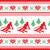 északi · végtelenített · kötött · karácsonyi · minta · vektor · piros - stock fotó © redkoala