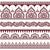 indiai · henna · tetoválás · végtelen · minta · elefántok · vektor - stock fotó © redkoala
