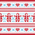 christmas winter knitted pattern card   scandynavian sweater style stock photo © redkoala