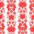 kalocsai emrboidery red seamless patternn   floral folk art background stock photo © redkoala