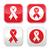 hulpmiddelen · hartziekte · teken · Rood - stockfoto © redkoala