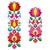 kalocsai embroidery   hungarian floral folk art long patterns stock photo © redkoala