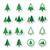 öko · újrahasznosítás · címkék · szett · zöld · izolált - stock fotó © redkoala