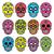 mexican · cukru · czaszki · biały · wektora - zdjęcia stock © redkoala