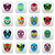 lucha libre luchador mexican wrestling masks icons stock photo © redkoala