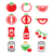 può · tutto · pomodori · illustrazione · sfondo · foto - foto d'archivio © redkoala