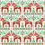 seamless scandinavian folk art pattern swedish dala or daleclarian horse floral design stock photo © redkoala