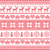 winter christmas red seamless pixelated pattern with deer stock photo © redkoala