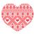 tricotado · padrão · forma · coração · projeto · fundo - foto stock © redkoala