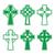 セット · 交差 · ベクトル · イエス · 祈り · 白 - ストックフォト © redkoala