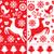 kırmızı · doku · tekrar · model · duvar · soyut - stok fotoğraf © redkoala