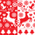 rojo · textura · repetir · patrón · pared · resumen - foto stock © redkoala