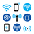 wifi · netwerk · internet · zwarte · moderne - stockfoto © redkoala