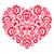 inpakpapier · ontwerp · rode · bloemen · oneindig · textuur - stockfoto © redkoala