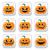 halloween · uśmiech · ikona · streszczenie · biały · dynia - zdjęcia stock © redkoala