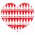 bağbozumu · kırmızı · kalp · beyaz · tutku - stok fotoğraf © redkoala