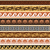 ancient greek pattern   seamless set of antique borders from greece stock photo © redkoala