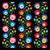 végtelenített · művészet · minta · repetitív · színes · nyomtatott - stock fotó © redkoala