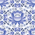 russian seamless folk pattern traditional design with flower   gzhel pottery style stock photo © redkoala