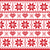 christmas knitted pattern card   scandynavian sweater style stock photo © redkoala