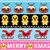 sem · costura · natal · bolinhos · decorado · bolinhos - foto stock © redkoala