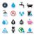 世界中 · 給水栓 · 3D · アイソメトリック · 水 - ストックフォト © redkoala