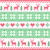 winter christmas red and green seamless pixelated pattern with deer stock photo © redkoala