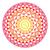 tribal aztec geometric pattern or print in circle   ombre stock photo © redkoala